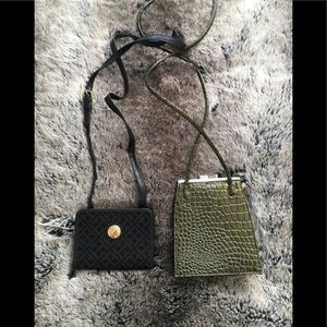 Purses Black and green